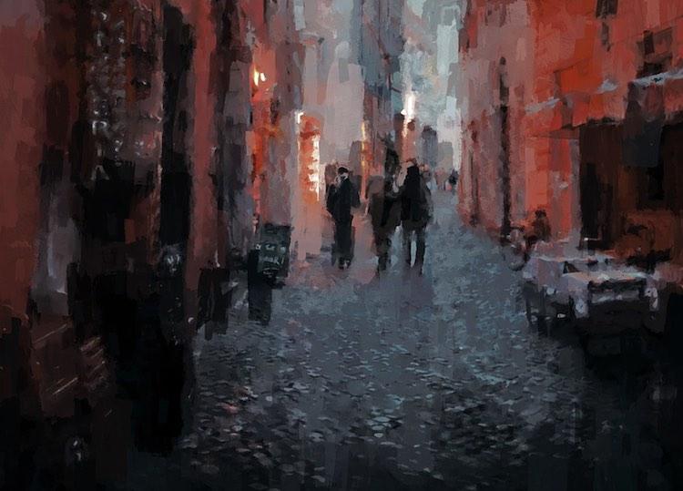 """ヘルメス・J・シャンブの「""""在る""""の息吹」/vol.7  薄暗い路地にて"""