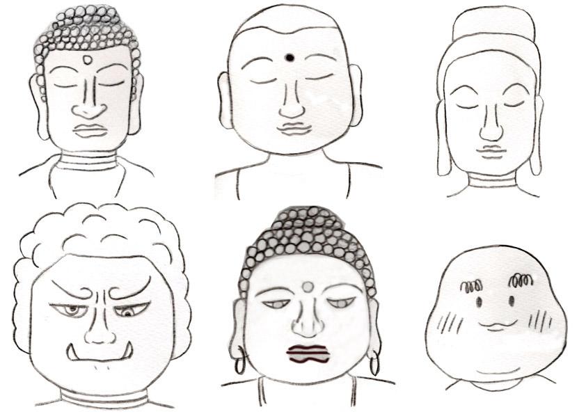 いくら流・ワクワク人相講座〈31〉仏像特有のさまざまな表情の秘密